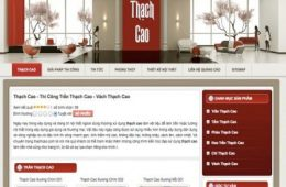 Thạch cao- thachcao.com.vn